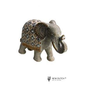 600250 - Mirror Elephant - 28x21cm