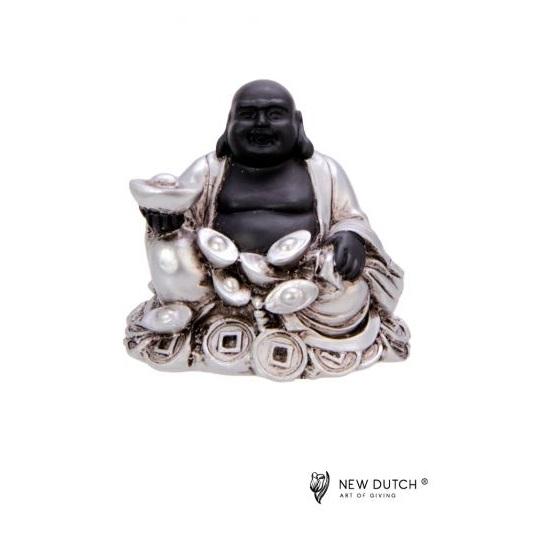 600500 - Geluks Buddha Rijkdom - 8 cm