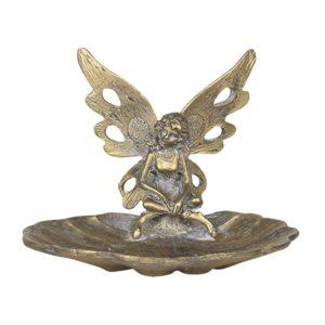 64612 - Decoratie schaaltje engel - 11*10*8 cm