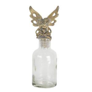 6GL2829 - Fles met flessenstop - 7*5*17 cm