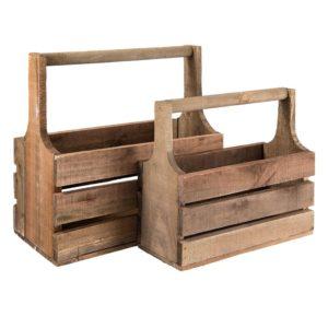 6H1622 - Kist van hout - set 2
