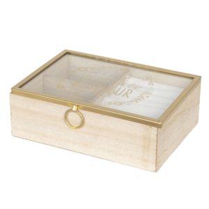 6H1727 - Juwelendoosje - 18*6*13 cm