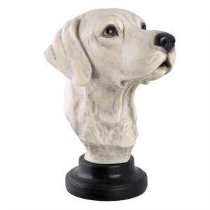 6PR2200 - Decoratie buste hond - 21*24*30 cm