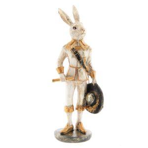 6PR2306 - Decoratie konijn - 7*7*23 cm