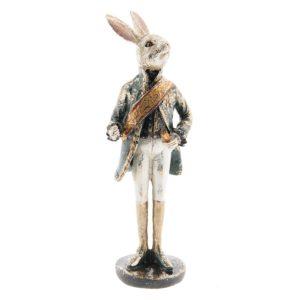 6PR2307 - Decoratie konijn - 7*7*23 cm
