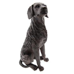 6PR2324 - Hond zittend - 20*15*40 cm