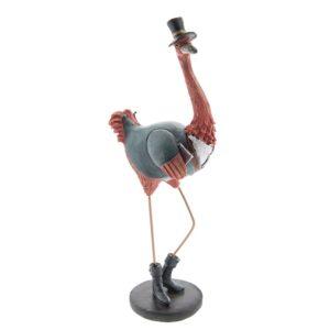 6PR2386 - Decoratie flamingo - 12*8*29 cm