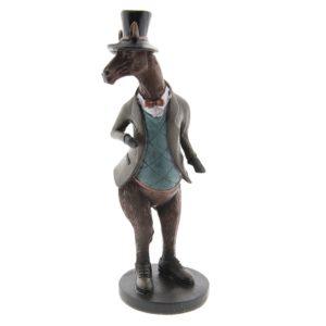 6PR2387 - Decoratie paard - 9*9*22 cm