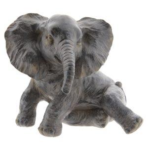 6PR2403 - Decoratie olifant - 20*19*17 cm
