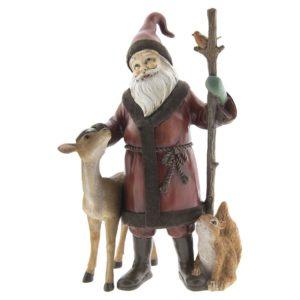 6PR2406 - Decoratie kerstman - 18*13*30 cm