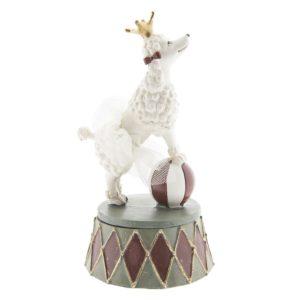 6PR2421 - Decoratie hond - 9*9*15 cm