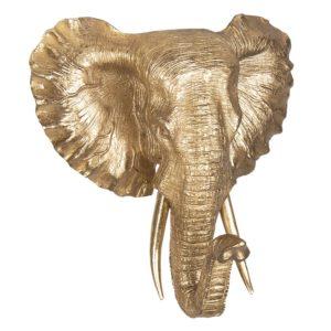 6PR2438 - Decoratie olifant - 44*42*23 cm