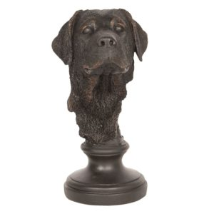 6PR2500 - Decoratie hond - 14*14*27 cm