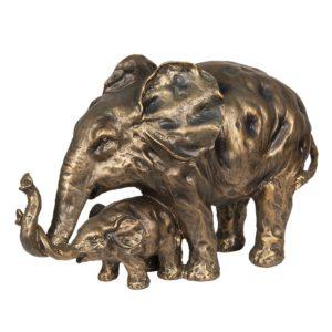 6PR2625 - Decoratie olifanten - 38*15*24 cm