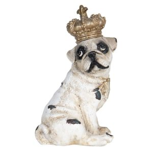 6PR2711 - Decoratie hond - 7*6*12 cm
