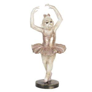 6PR2716 - Decoratie ballerina aap - 17*14*38 cm
