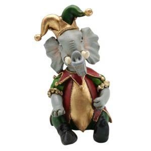 6PR2741 - Decoratie olifant - 14*11*18 cm