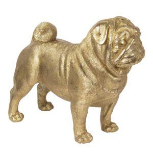 6PR2815 - Decoratie hond pug - 43*20*35 cm