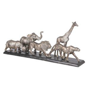 6PR2819 - Decoratie wilde dieren - 51*10*22 cm