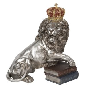 6PR2821 - Decoratie leeuw - 42*25*44 cm