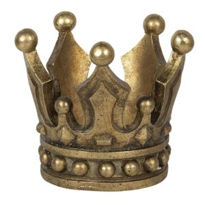 6PR2837 - Decoratie kroon - Ø 14*12 cm