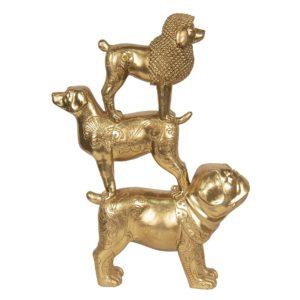 6PR2855 - Decoratie honden - 29*10*41 cm