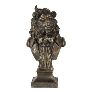 6PR2862 - Decoratie leeuw - 16*15*33 cm
