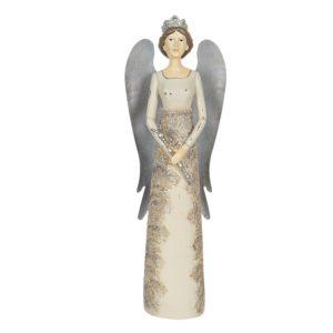 6PR2885 - Decoratie engel - 13*11*41 cm