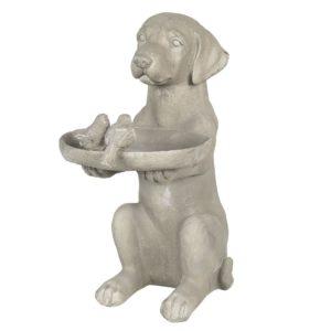 6PR2902 - Hond vogelvoederbak - 38*26*48 cm