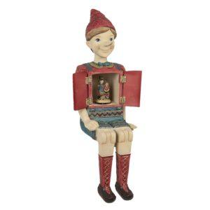 6PR2915 - Decoratie figuur Pinokkio - 19*18*46 cm