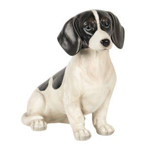 6PR2922 - Decoratie hond zittend - 37*17*32 cm