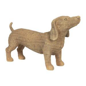 6PR2924 - Decoratie hond - 39*14*24 cm