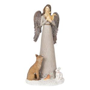 6PR2933 - Decoratie engel - 15*12*30 cm