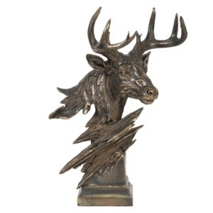 6PR2940 - Decoratie hert - 19*24*41 cm