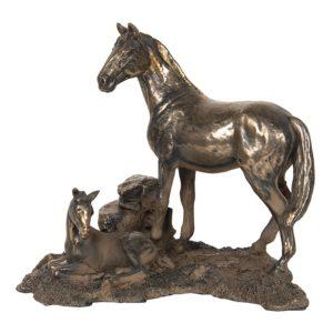 6PR2945 - Decoratie paard - 19*13*15 cm
