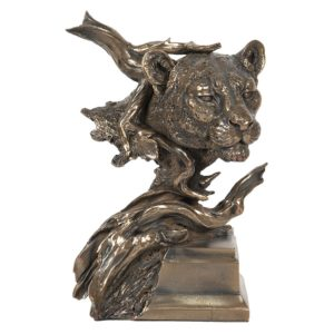 6PR2948 - Decoratie luipaard - 18*16*32 cm