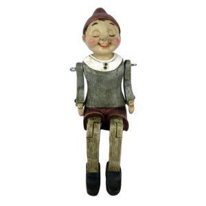 6PR2975 - Decoratie figuur Pinokkio - 8*13*22 cm