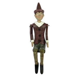 6PR2976 - Decoratie figuur Pinokkio - 13*8*27 cm