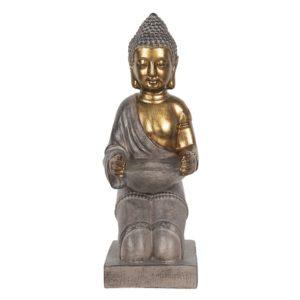 6PR2979 - Waxinelichthouder Boeddha - 14*17*38 cm