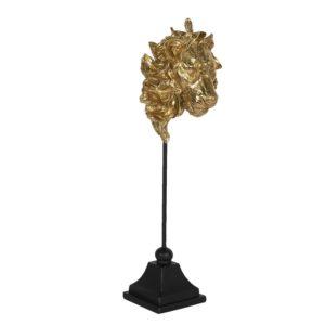 6PR3009 - Decoratie leeuw - 12*13*40 cm