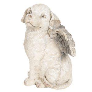 6TE0252 Hond met vleugels - 24*24*33 cm