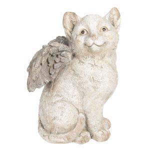 6TE0253 Kat met vleugels - 23*23*33 cm