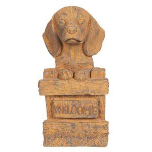 6TE0273 - Decoratie hond - 20*20*39 cm