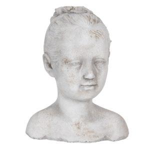 6TE0286 - Decoratie hoofd kind - 16*14*20 cm