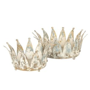 6Y2952 - Decoratie kroon - set 2