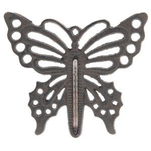 6Y3006 - Thermometer vlinder - 17*15 cm