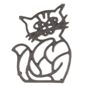 6Y3052 - Pannenonderzetter kat - 14*19*2 cm