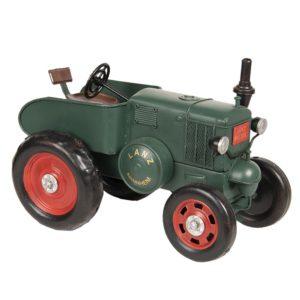 6Y3431 - Lanz tractor model licentie - 28*17*19 cm