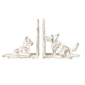 6Y3489 - Boekensteun hond - set 2