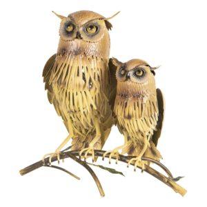 6Y3538 - Decoratie uilen - 36*20*36 cm
